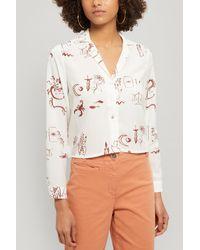 Paloma Wool Tarot Roulette Print Shirt - Multicolour