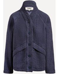 YMC Erkin Raglan Jacket - Blue