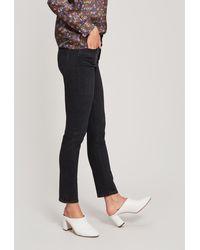 PAIGE Sarah Slim-straight Jeans - Black
