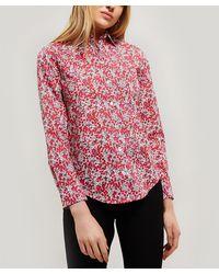 Liberty Wiltshire Tana Lawn' Cotton Bryony Shirt - Multicolour