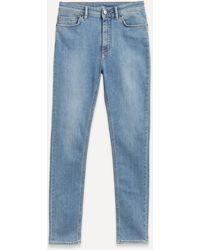 Acne Studios Peg Skinny High-waist Jeans - Blue