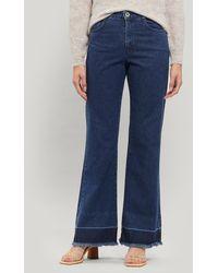 Paloma Wool Marsala High-waist Recycled Denim Pants - Blue