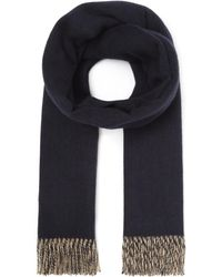 Johnstons - Cashmere Contrast Scarf - Lyst