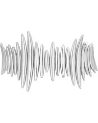 Shaun Leane Silver Quill Bracelet - Metallic