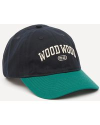 WOOD WOOD Brian Tennis Cap - Blue