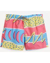 Boardies Fresh Prince Swim Shorts - Multicolor