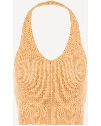 Paloma Wool Bien V-shaped Knit Top - Multicolor