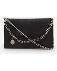 Stella McCartney Mini Falabella Faux Leather Cross-body Bag - Black