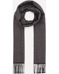 Nick Bronson Double Faced Wool Scarf - Gray