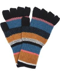 Quinton-chadwick - Striped Fingerless Gloves - Lyst