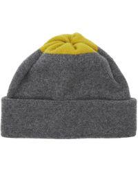 Jo Gordon - Top Spot Lambswool Beanie Hat - Lyst