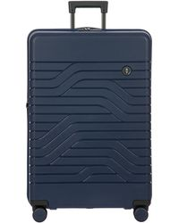 Bric's B|y Ulisse Large Expandable Trolley Suitcase - Blue