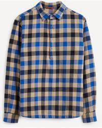 Barena Pavan Boscariol Check Shirt - Blue