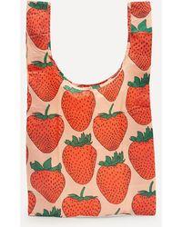 BAGGU Standard Reusable Nylon Shopping Bag - Red