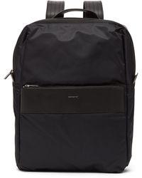 Sandqvist Valdemar Recycled Nylon Backpack - Black