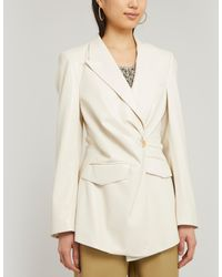 Nanushka Blair Vegan Leather Blazer - Multicolor