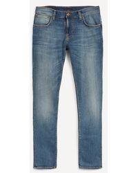 Nudie Jeans Tight Terry Steel Navy Jeans - Blue