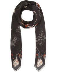 Alexander McQueen - Cabinet Wool-blend Pashmina - Lyst