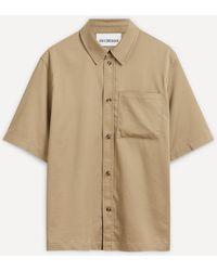 Han Kjobenhavn Short-sleeved Boxy Shirt - Natural