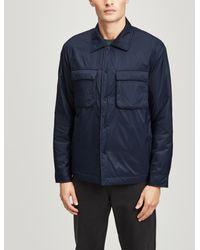 NN07 Columbo 8429 Padded Jacket - Blue