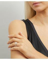 Kojis Platinum 1.58ct Emerald Cut Diamond Ring - Metallic