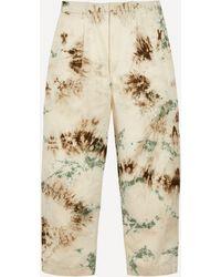 Kapital Katsuragi Nime Tie-dye Trousers - Natural
