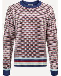 YMC Dawg Oversized Stripe Sweater - Multicolor
