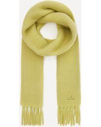 Holzweiler Aster Alpaca-blend Scarf - Yellow