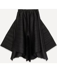 Pleats Please Issey Miyake A-line Trousers - Black