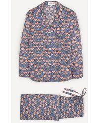 Liberty Alicia Tana Lawntm Cotton Pyjama Set - Multicolour