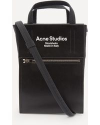 Acne Studios Baker Out Small Tote Bag - Black