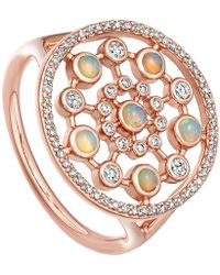 Astley Clarke Large Icon Nova Opal Ring - Multicolour