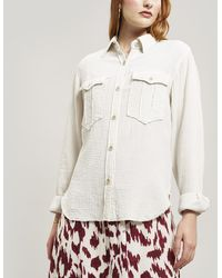 Étoile Isabel Marant Naria Western Pocket Shirt