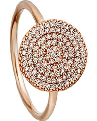 Astley Clarke Icon Rose-gold And Diamond Ring - Multicolor