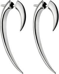 Shaun Leane Silver Hook Earrings - Metallic