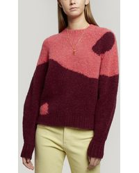 Paloma Wool Ying Yang Knitted Sweater - Purple