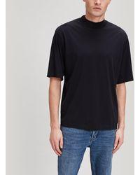 Acne Studios Esco Pink Label Mock Neck T-shirt - Black
