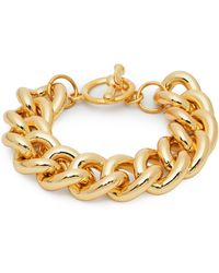 Kenneth Jay Lane Gold-plated Chain Bracelet - Metallic