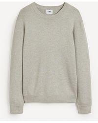 NN07 Luis 7430 Cotton-modal Jumper - Grey