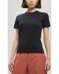 Acne Studios Dorla Cotton Baby T-shirt - Black