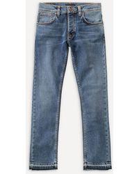 Nudie Jeans Grim Tim Ojai Blues Straight-leg Jeans