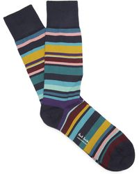 Paul Smith - Stripe Socks - Lyst