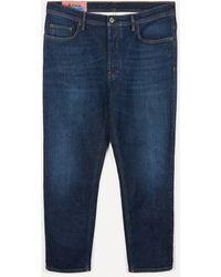 Acne Studios River Dark Blue Jeans