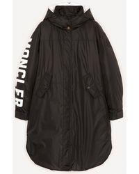 Moncler Hugon Parka Jacket - Black