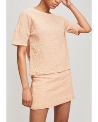 Paloma Wool Drago Wide Sleeve Oversize Top - Orange