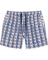 Liberty Relaxed Giulietta Swim Shorts - Blue