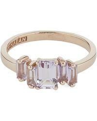 Suzanne Kalan Rose Gold Rose De France Cluster Ring - Metallic
