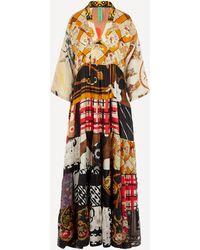 Rianna + Nina One Of A Kind Volant Dress - Multicolour
