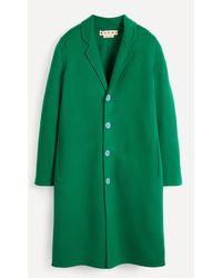 Marni Single-breasted Wool-cashmere Coat - Green