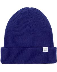 Norse Projects Norse Beanie - Blue